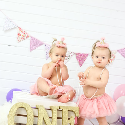 Harlow & Elodie are one!