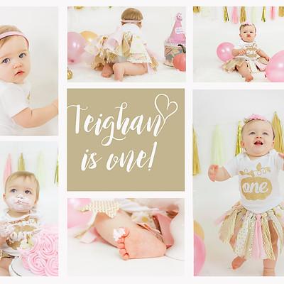 Teighan Is 1!