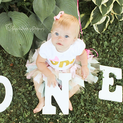 Baby Emma is 1!