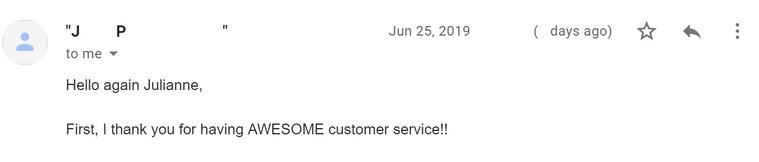 Email Feedback