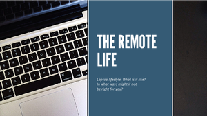 Online remote work, what it is and what it would mean for you..