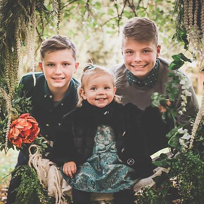 Bartley Family- Fall Mini Session 2018