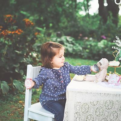 Garden Tea Party Mini Sessions