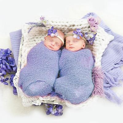 Kendall Christine & Karlie Lynn Lige Newborn