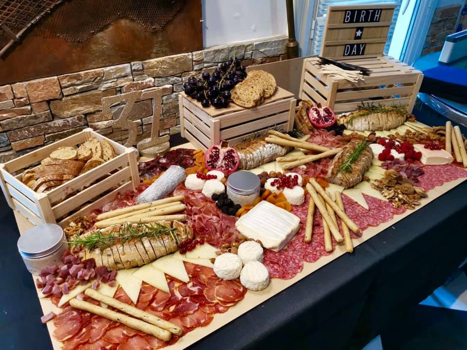 Buffet charcuterie fromage