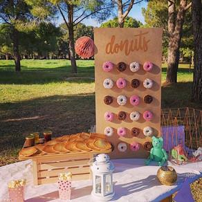 Mur à mini donuts 🍩 !