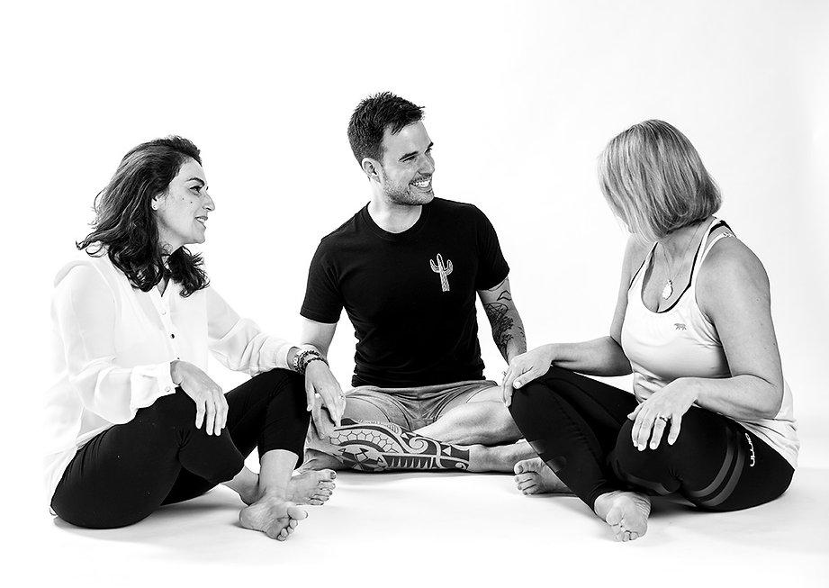 Corporate yoga classes with Julio