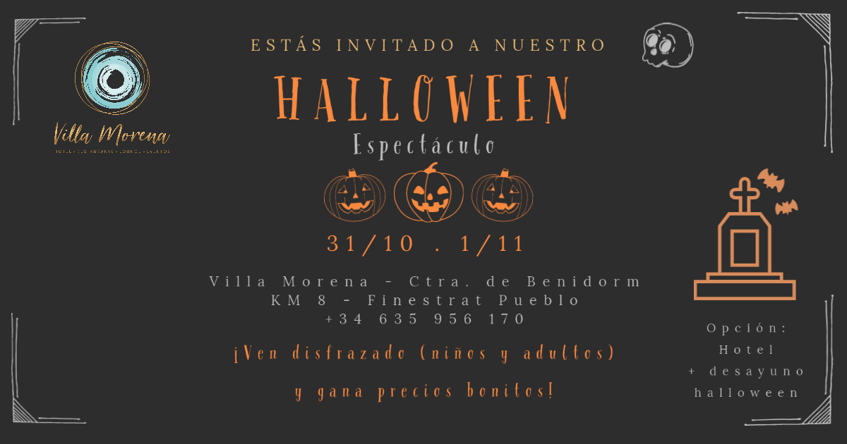 Halloween Villa Morena Espectaculo
