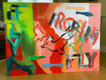Fly Robin Fly (Sold)