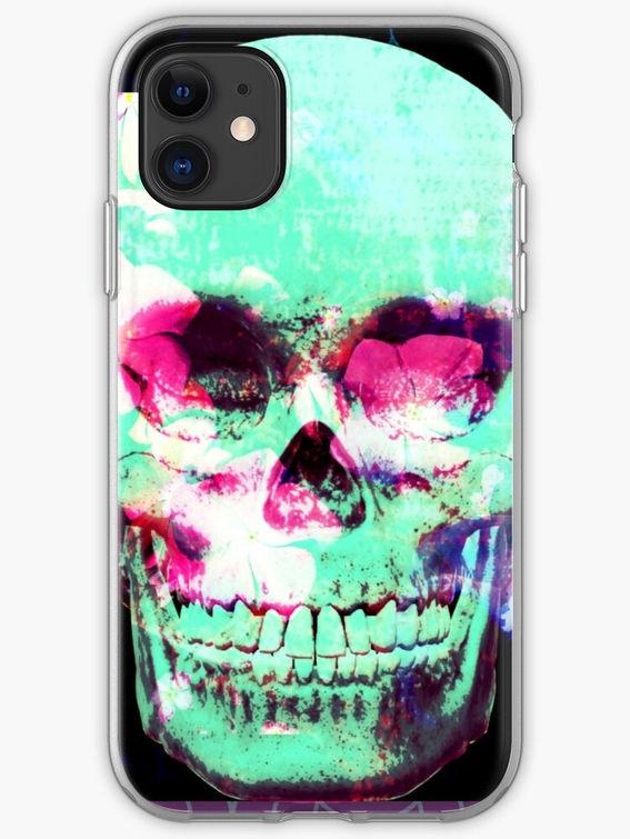 Digitally manipulated photographyon phone case