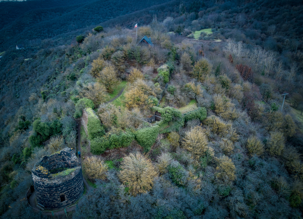 Burg Hammerstein im Winter 2020
