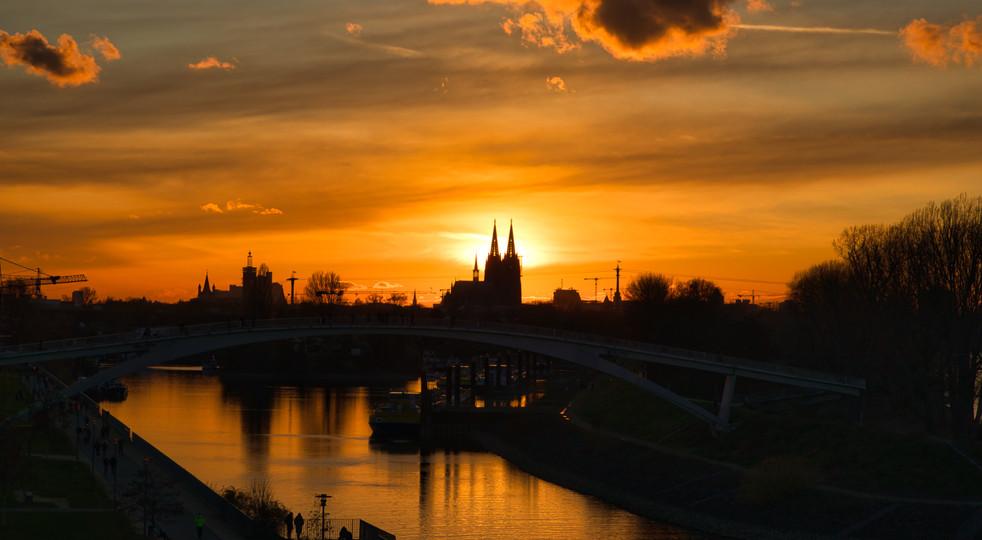 Stimmung über Köln