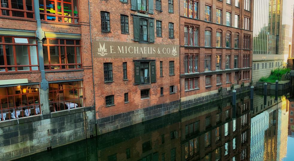 Hamburg Wasserimpressionen
