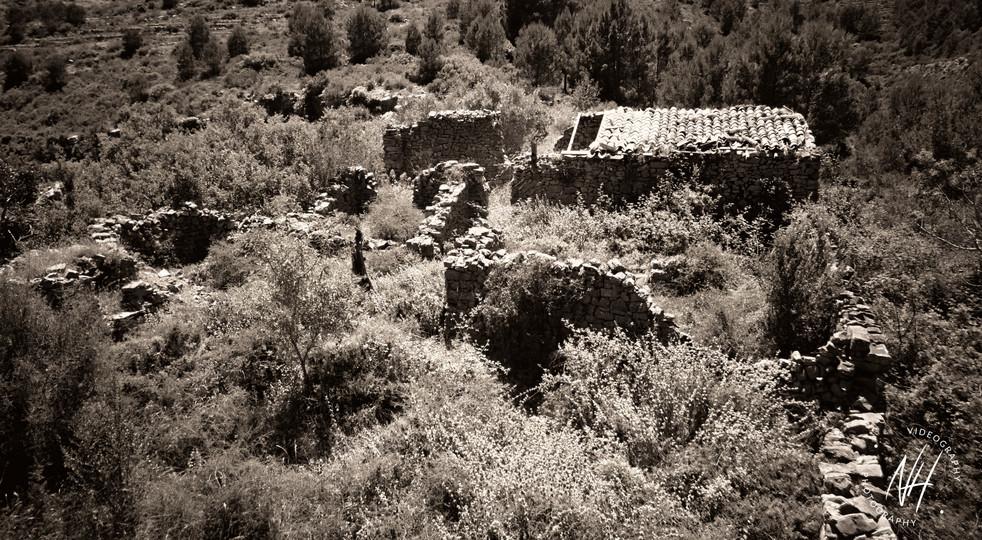 Alte Siedlung der Mauren an Costo Blanca