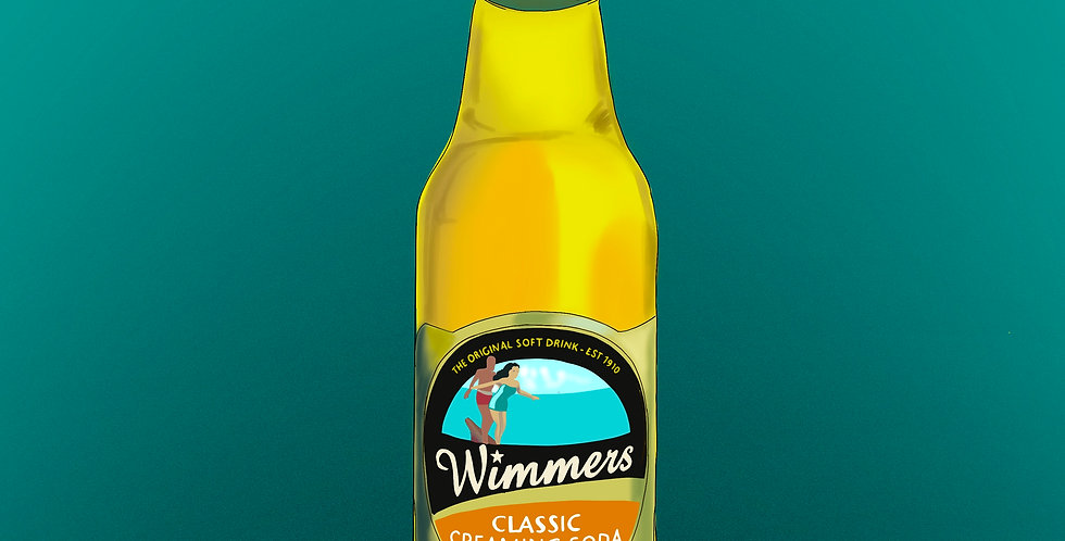 WIMMERS CLASSIC CREAMING SODA    - 330ml