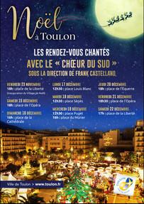 Concert de Noël à Toulon 2018