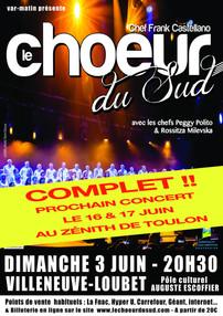 Concert Villeneuve-Loubet