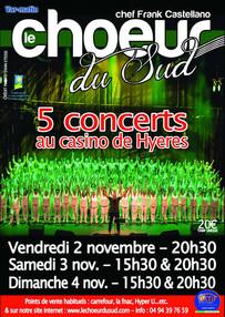 Concert Casino de Hyéres