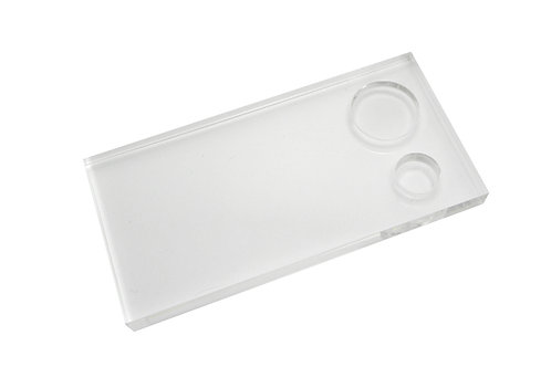 Square Silicon Working Tray