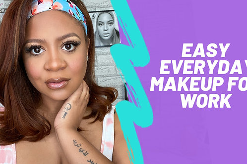 Easy everyday online makeup class