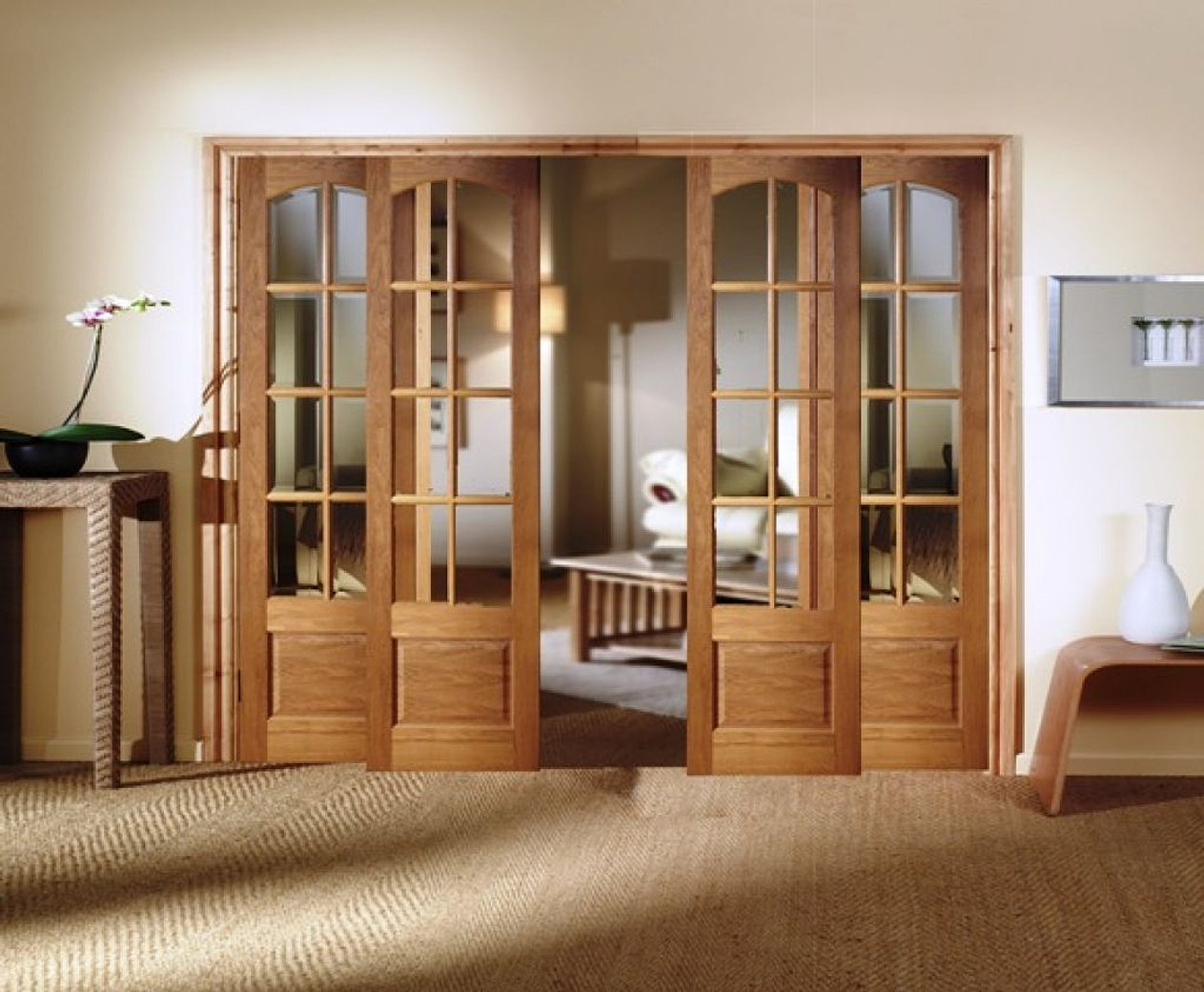 door doors rustic light core knotty wood x maple groove interior solid panel entries p alder in single v unfinished pacific prehung unf reversible
