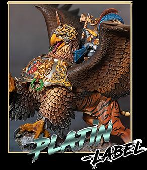 Platin Label Beispielbild