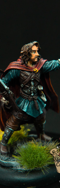 Kämpfer mit Armbrust (Dark Sword Miniatures)