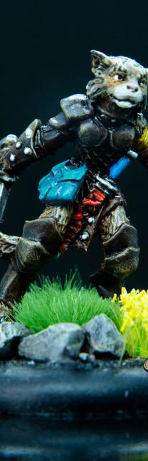 Tabaxi Rogue (Reaper Miniatures)
