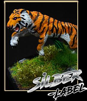 Silber-Label
