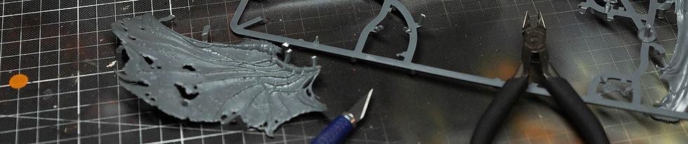 Titelbild der Seite, Gussrahmen und Bauteile