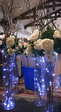 Willow Branch Centerpiece w/Fairy