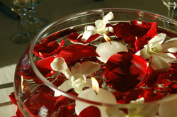 Floating Candle Bowl Centerpiece