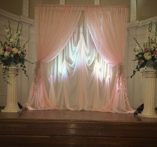 GLAM Ceremony Backdrop