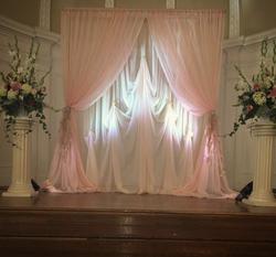 GLAM Ceremony Backdrop