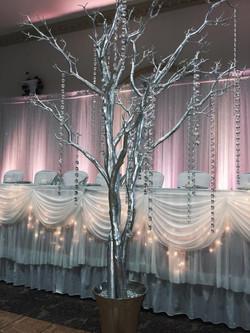 Buffalo Wedding Backdrop