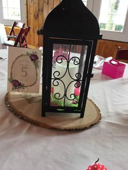 Scroll Lantern Candelabra