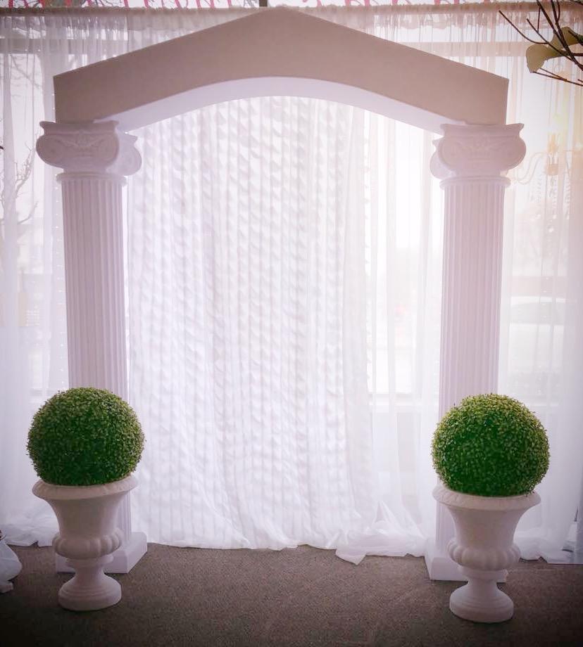 Roman Pillar Arch