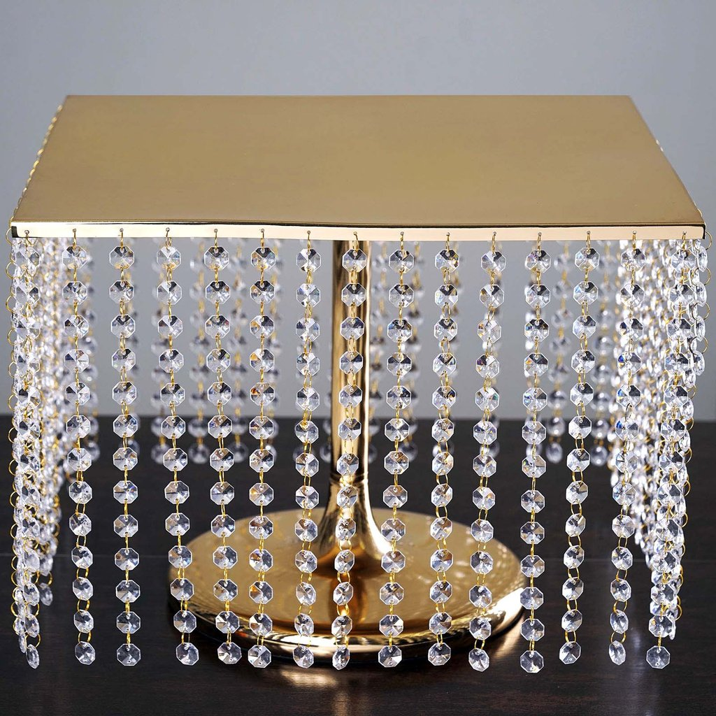 """16"""" Gold Plated Chandelier Stand"""
