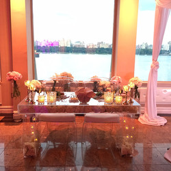 Lucite Head Table