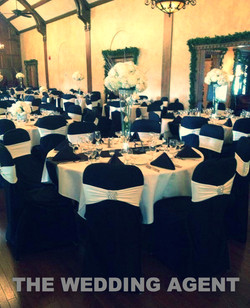 Basic chair covers with band Buffalo