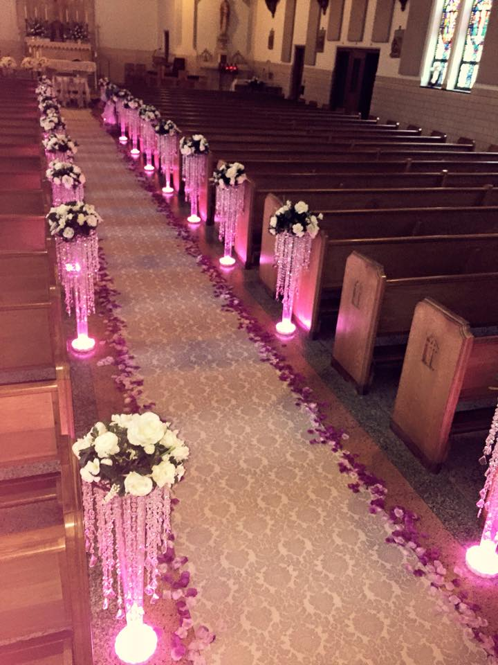 LED Chandeliers with Floral