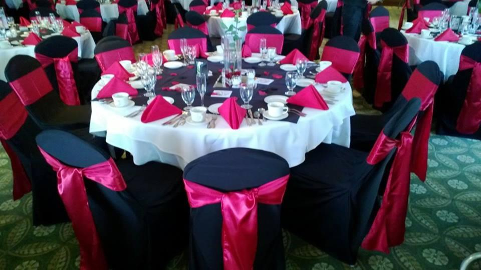 Basic chair covers with sash Buffalo