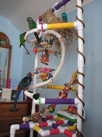 PVC BIRD PERCH MOD26