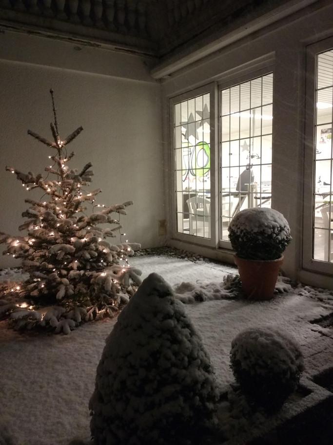 Weihnachtsurlaub & Vertretung