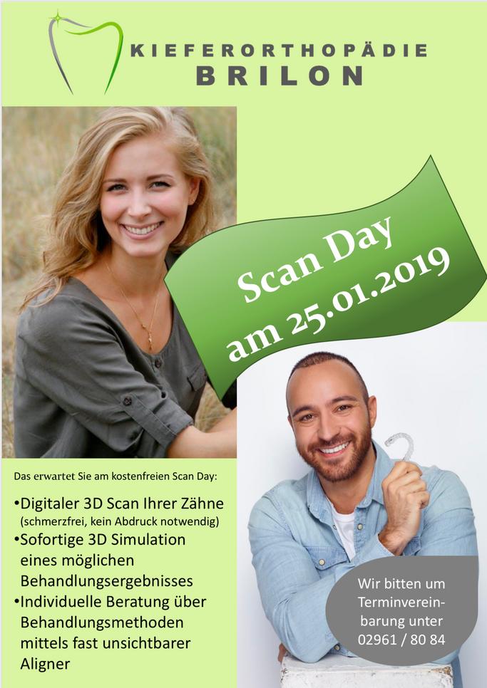 Unser Scan Day am 25.01.2019