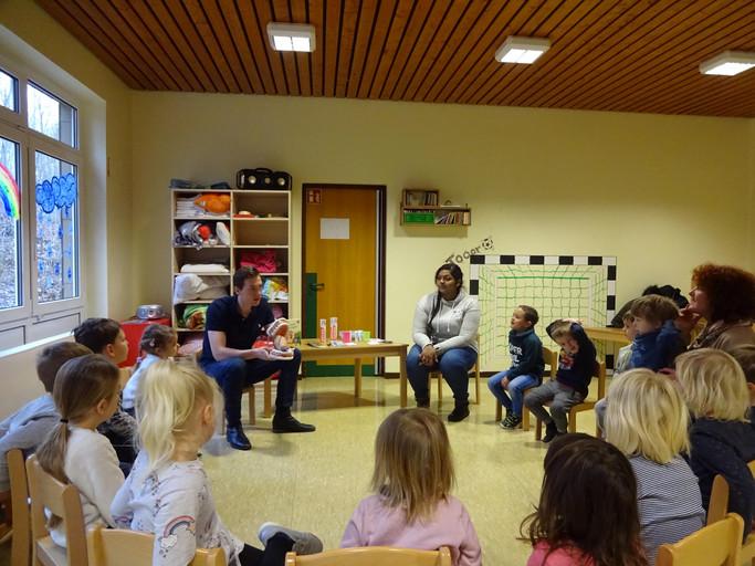 Weitere zahnmedizinische prohylaktische Betreuung eines Kindergartens