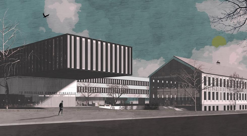 FH Campus Pinkafeld_Visualisierung_zushc