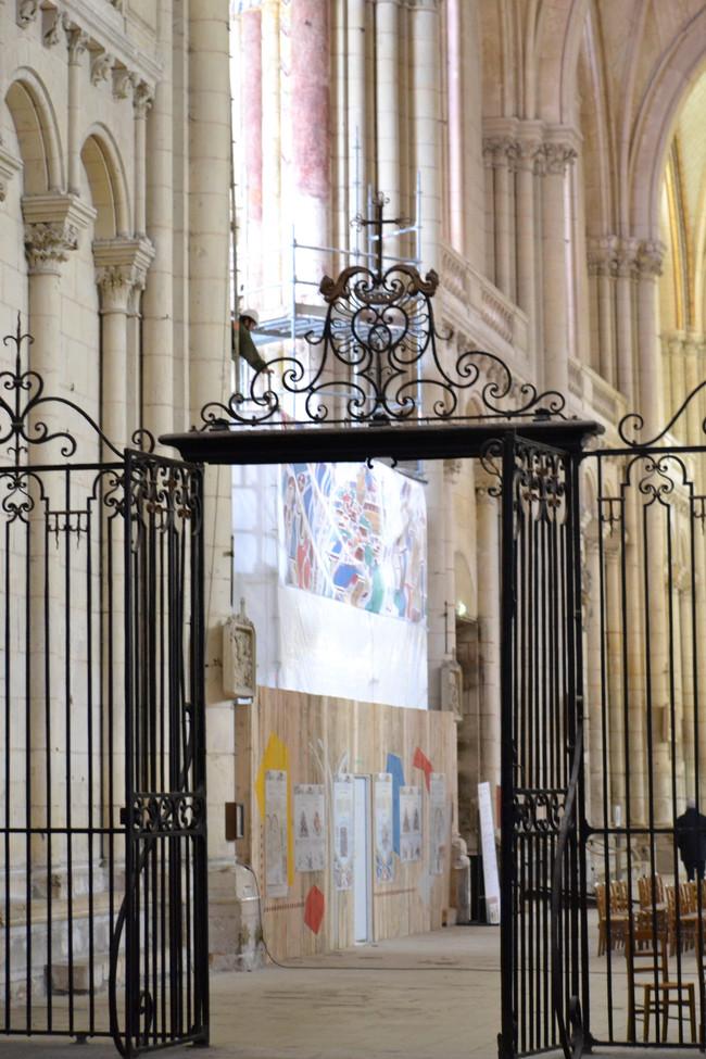 Bâche Cathédrale Poitiers