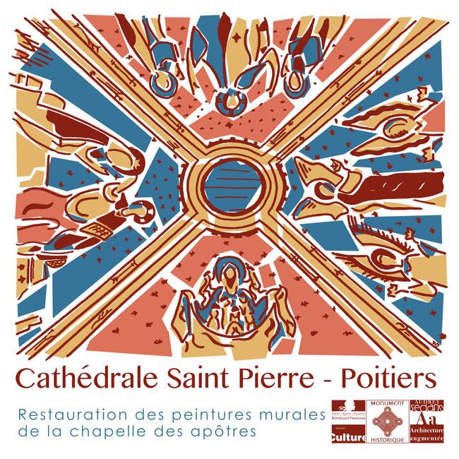 Illustration voutains Cathédrale Poitiers