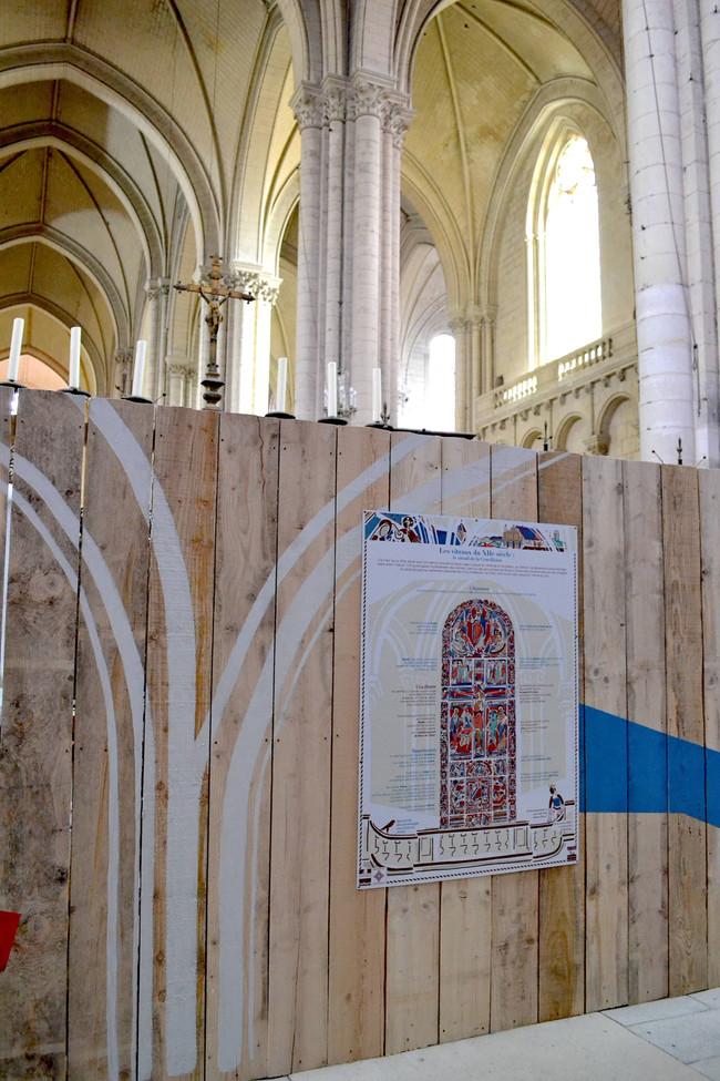 Fresques Cathédrale Poitiers